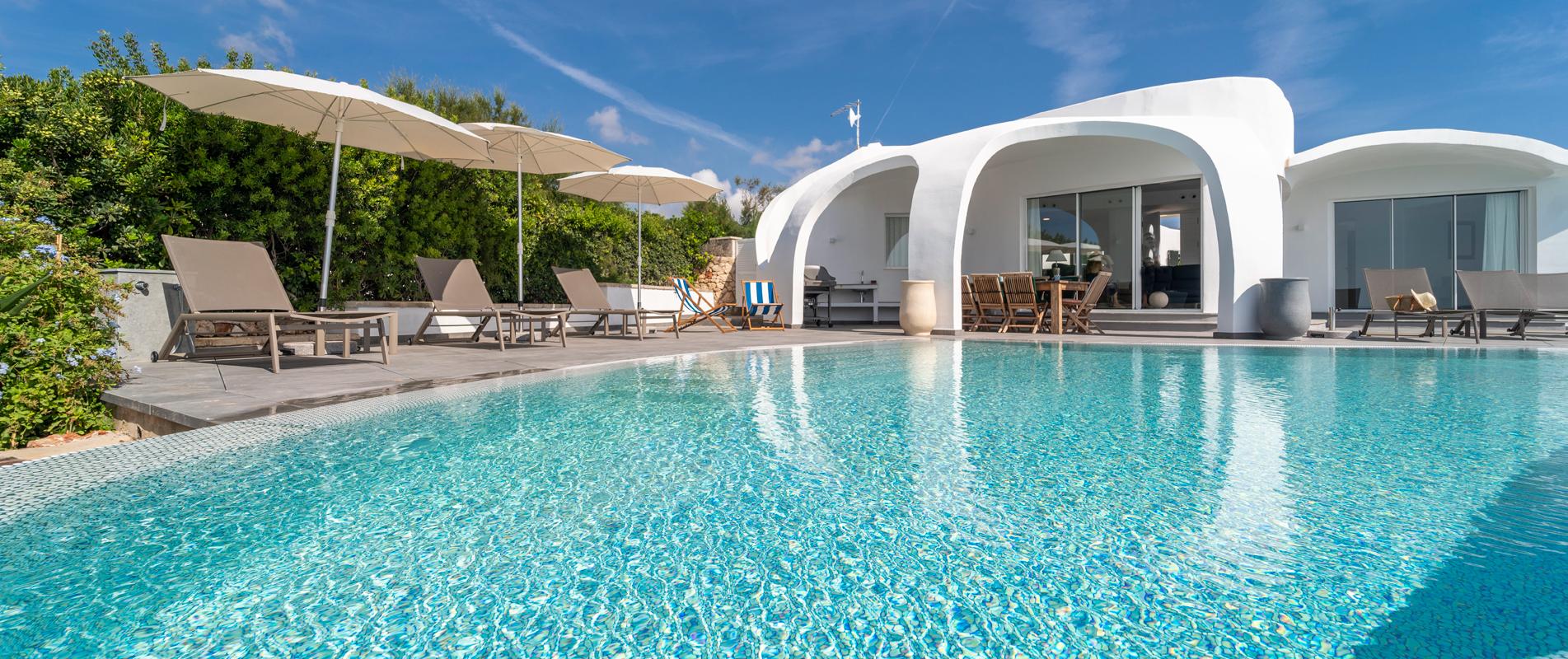 Vacaciones en villa de lujo Menorca