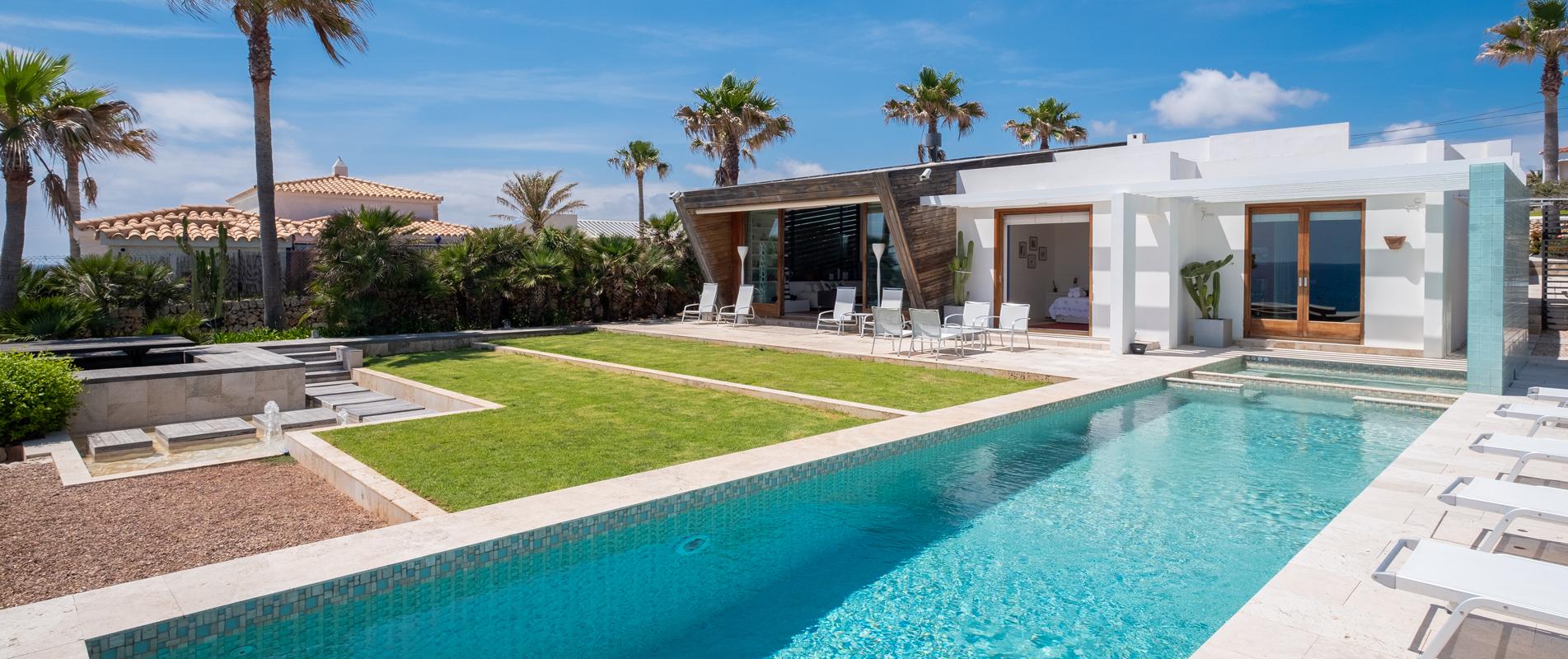 Villas en la playa Menorca