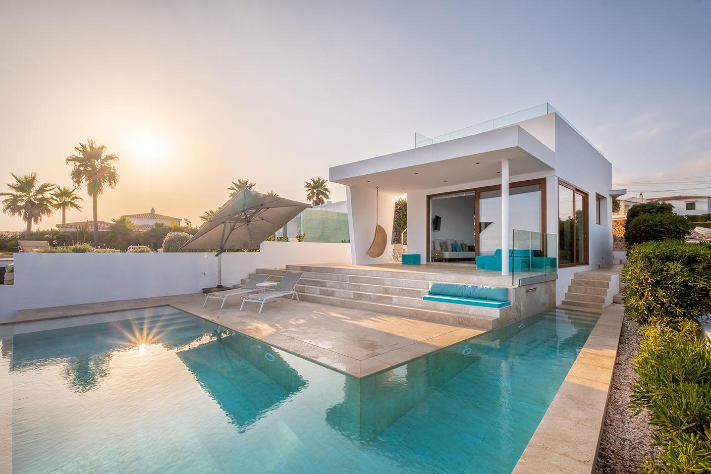 Villa de lujo en Menorca con vistas al mar